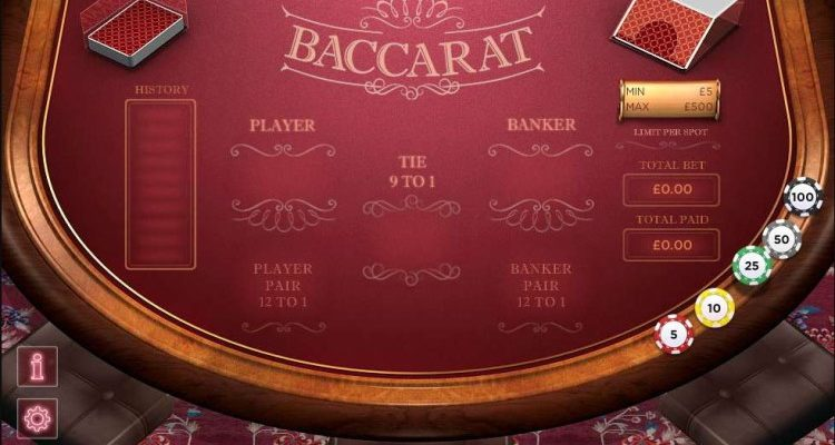 Free Baccarat Casino Game The Rules Aspects Of Free Gambling